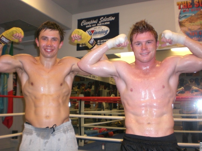 Golovkin_and_Alvarez_after_sparring