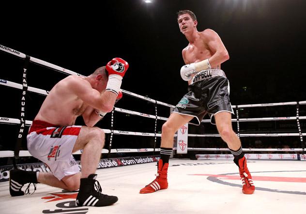 Boxing at Wembley Arena