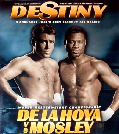 De La Hoya vs Mosley
