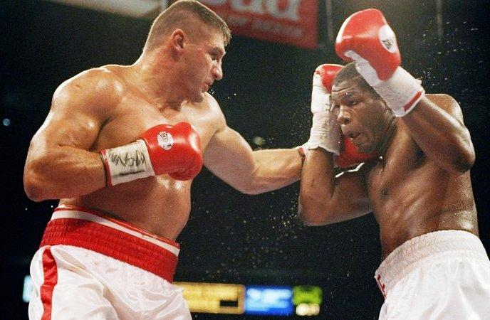 July 11, 1996: Bowe vs Golota I