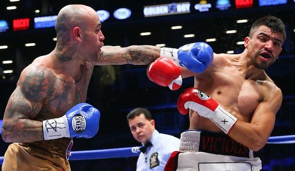 Collazo's biggest win: a quick KO of Victor Ortiz.