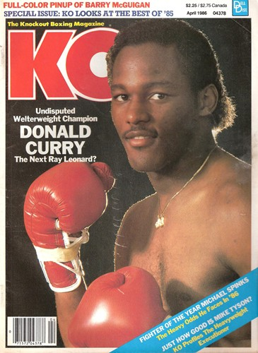 Donald Curry was riding high in 1985.