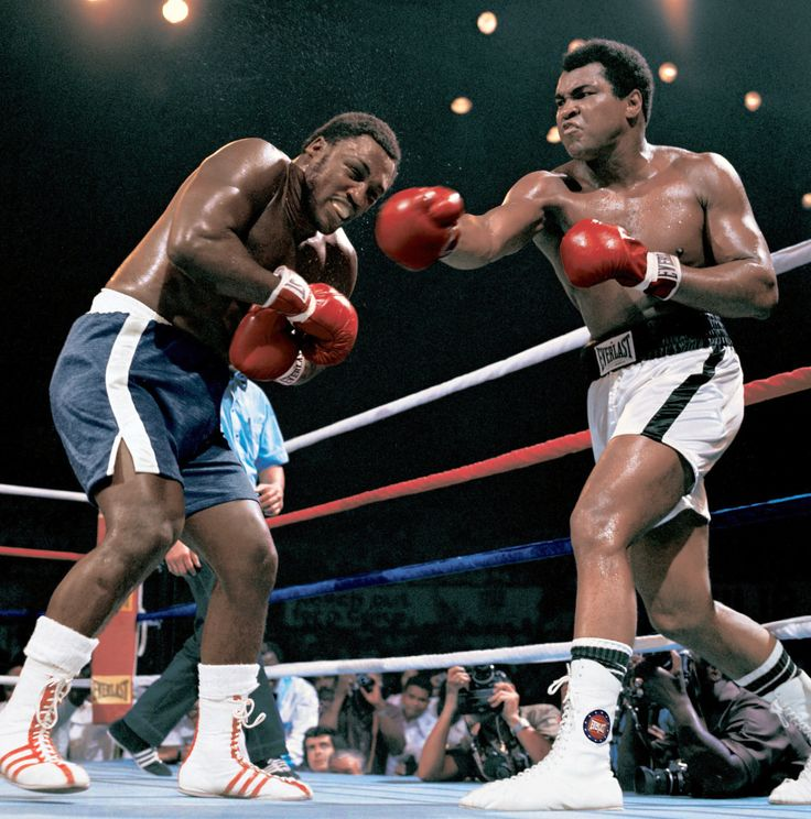 Frazier and Ali: great rivalries make for great fights.