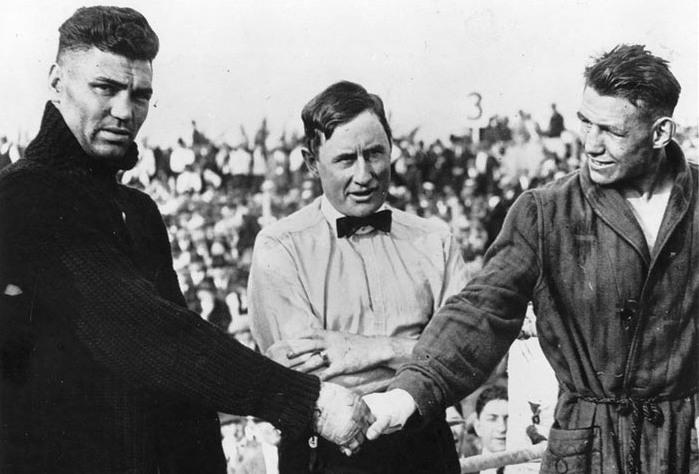 Sept. 6, 1920: Dempsey, Greb & Langford