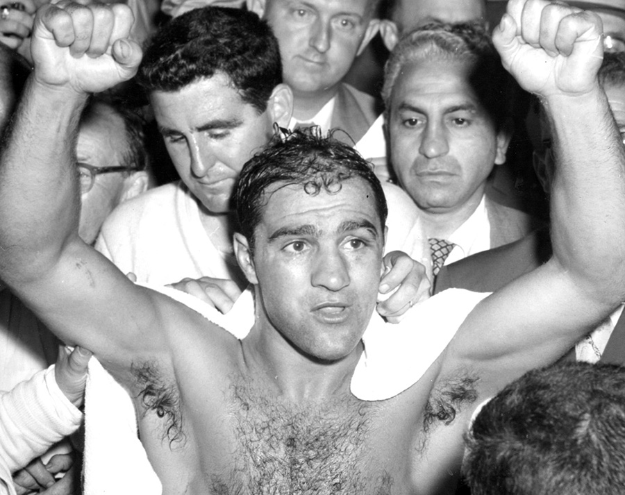 The indomitable Rocky Marciano.