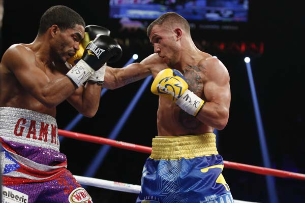 Lomachenko may only have five pro fights but he is one of the best featherweights on the planet.