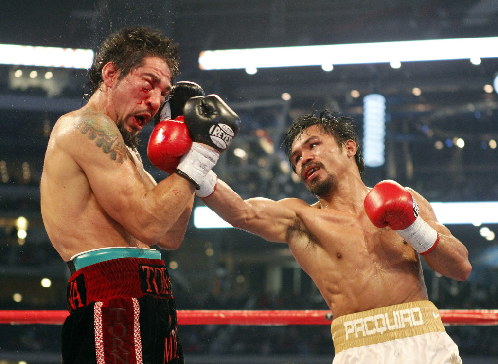 Manny Pacquiao took apart Margarito back in 2010, his eye would never be the same again.