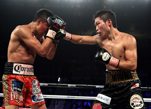 Miura - Vargas is a definite contender for Fight of the Year.
