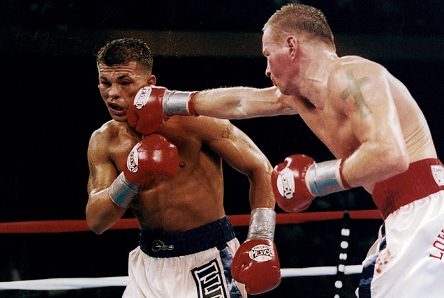 Gatti vs Ward: Thunder would gain fame as a fearless, face-first slugger.