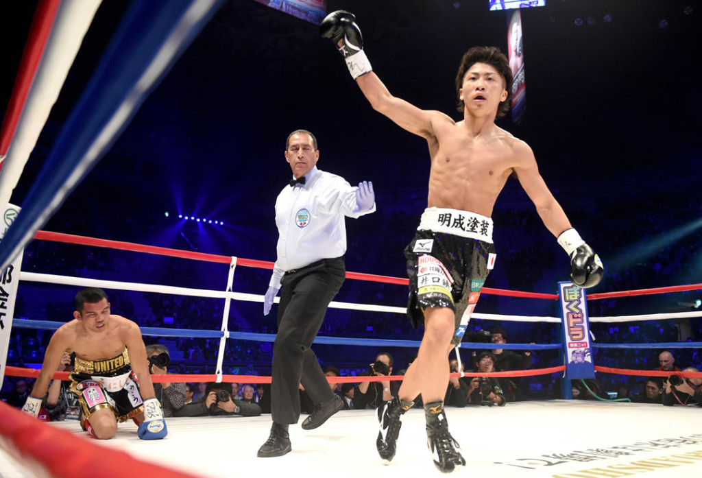 Naoya Inoue made easy work of Warlito Parrenas in his return to the ring.
