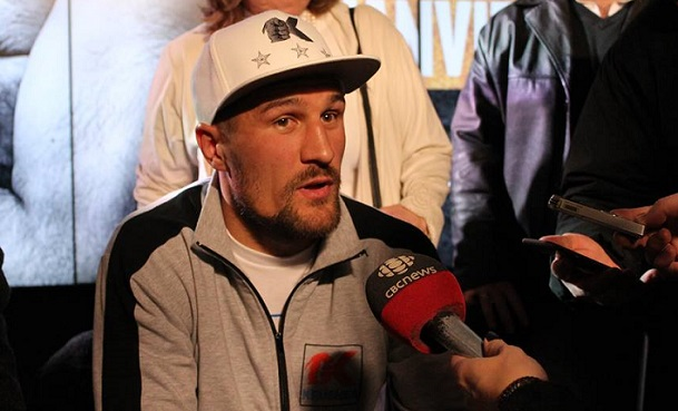 Kovalev answers questions.