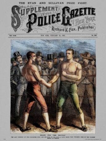 February 7, 1882: Sullivan vs Ryan The Fight City