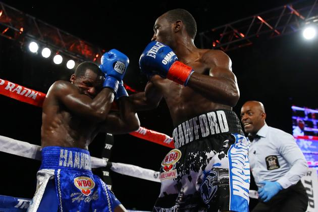 Crawford pounds Lundy out