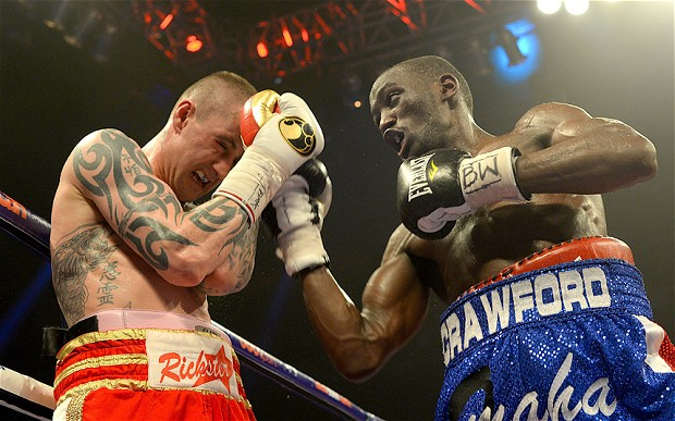 Crawford outclassed Burns to win his first world title