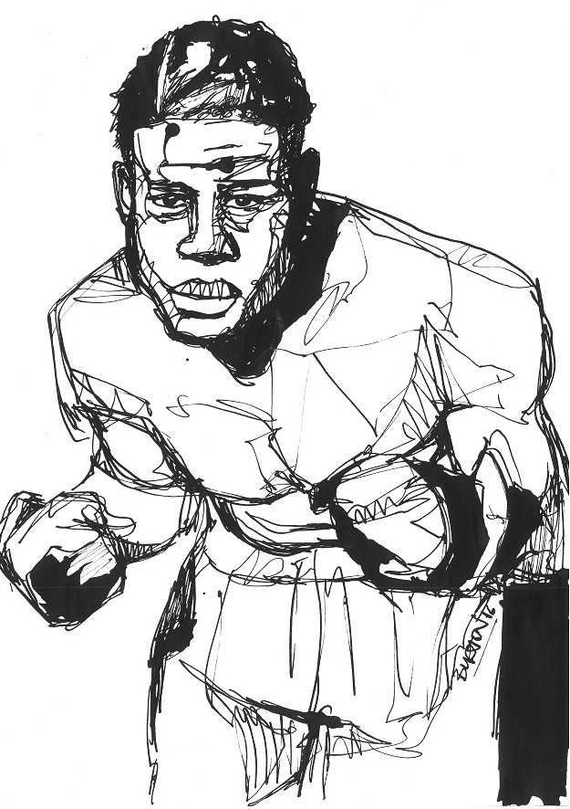 Joe Louis 1 by Damien