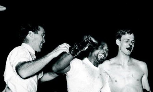 Moore won; Plimpton merely survived