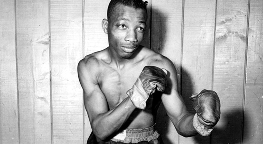Sandy Saddler, the big puncher from Harlem took Pep's title in a four round knock out in '48.