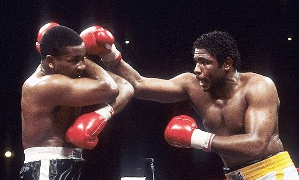 Witherspoon defeated Greg Page by decision in 1984.