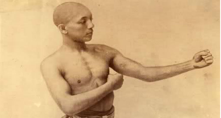 George Dixon was the first of many black boxing champions.