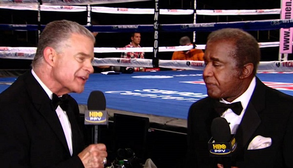 Lampley and Steward: Not a great night for the HBO team.