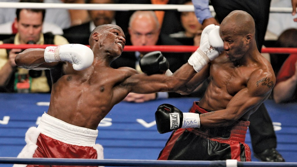 Mayweather vs Judah