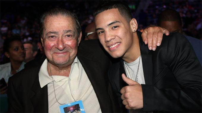 Bob Arum is betting Valdez will become a major attraction.