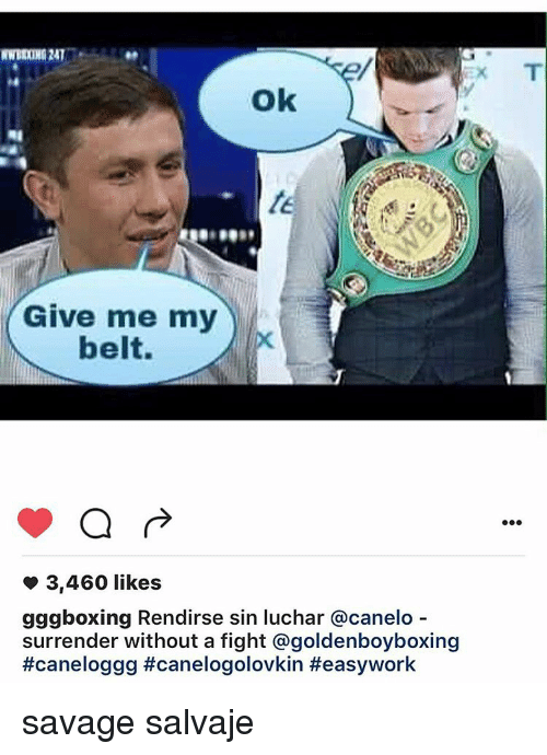 Golovkin now openly taunts Canelo on social media