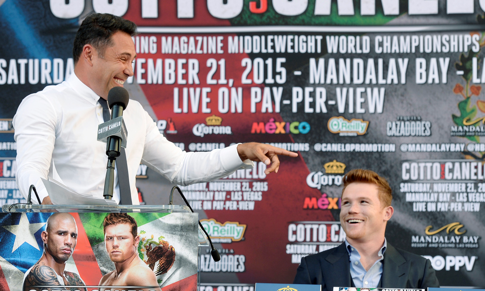 Are Oscar and Alvarez having a laugh at boxing's expense?