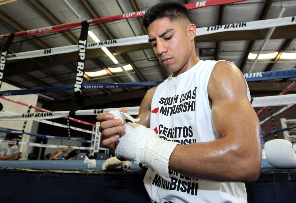Word is, Vargas will cross the pond to face Special K.