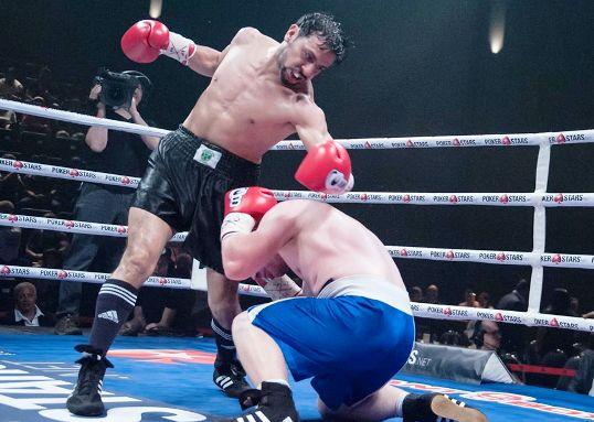Garcia's furious attack