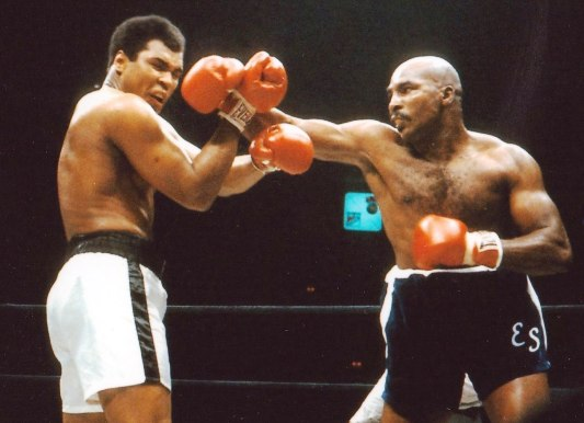 Shavers deadly right hand shook Ali.
