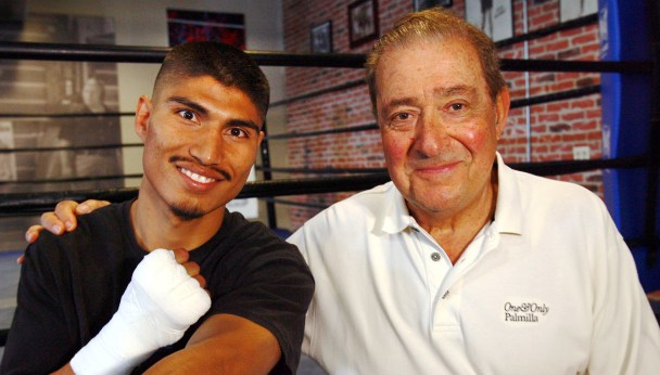 Garcia and Arum in happier times.