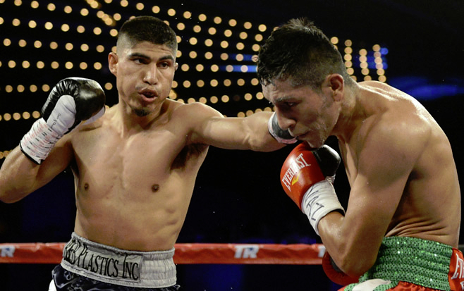 Garcia vs. Burgos; the last time we saw him in the ring