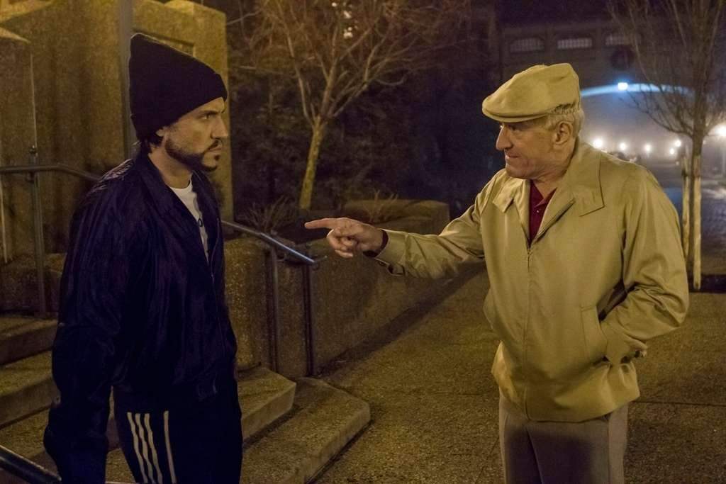 Edgar Ramirez and Robert DeNiro as Duran and Arcel.