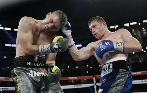 Canelo's power was too much for Smith.