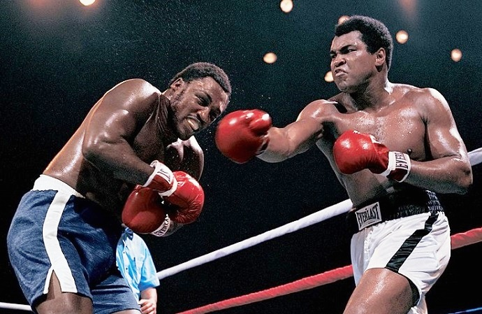 The thrilla in manila remembered: 40 years later the ring.