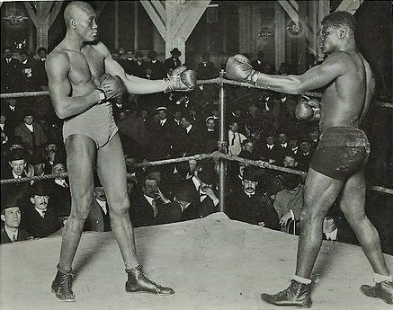 Johnson and McVea square off prior to their third battle.