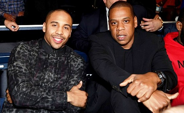 Ward with Roc Nation's Jay Z.