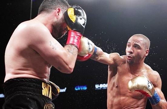 Ward defeats Paul Smith