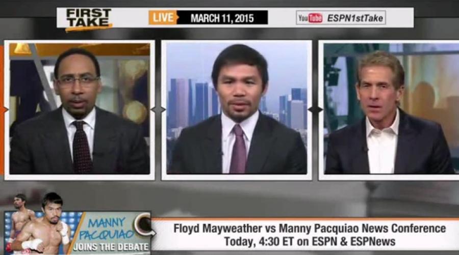 Manny assuring