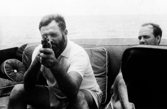 Hemingway cut a notorious image of masculinity.