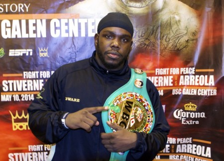 Stiverne wants to win back his old belt.