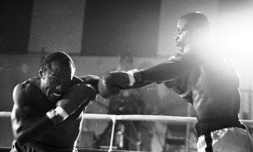 Braxton defeating James Scott in 1981.