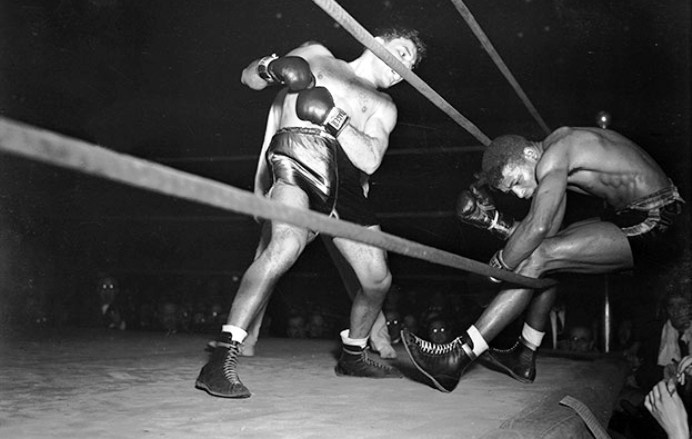 Feb. 5, 1943: Robinson vs LaMotta II