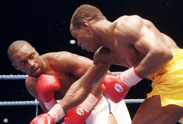 Benn and Eubank rumble for the 168 title in 1993.
