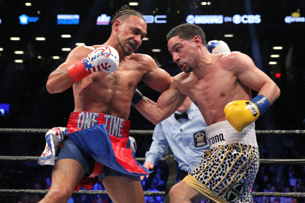 Keith Thurman beat Danny Garcia.