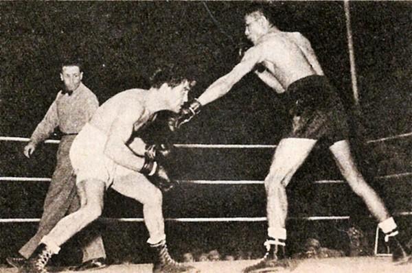 Perez stalks Yoshio Shirai.
