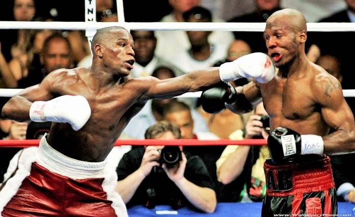 April 8, 2006: Mayweather vs Judah