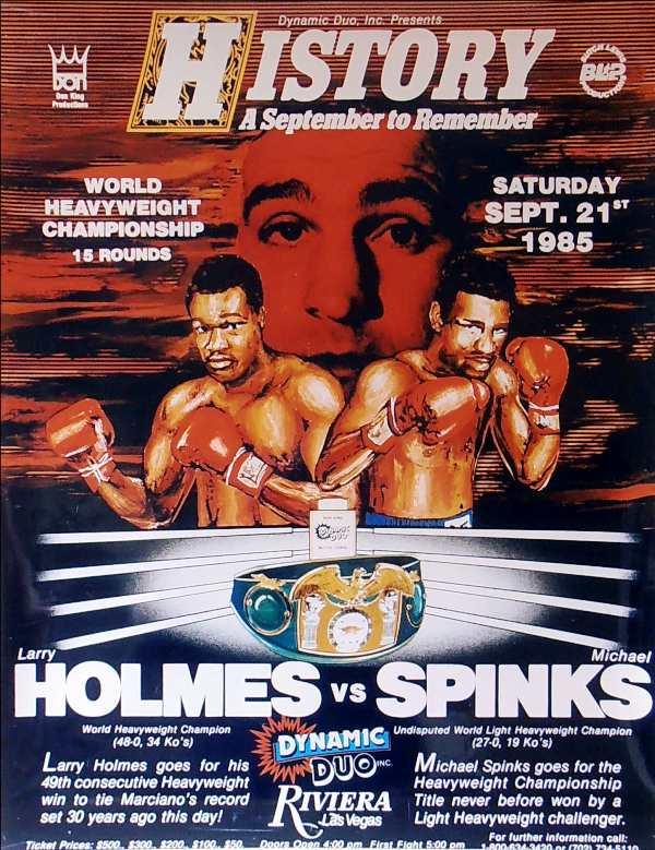 Holmes vs Spinks