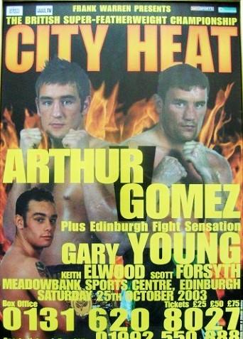 Arthur vs Gomez